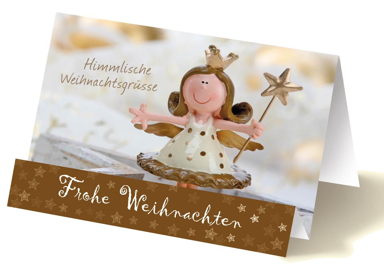 Himmlische Weihnachtsgrüße.Weihnachten Grußkarten Luma Kartenedition Schöne Grußkarten Für