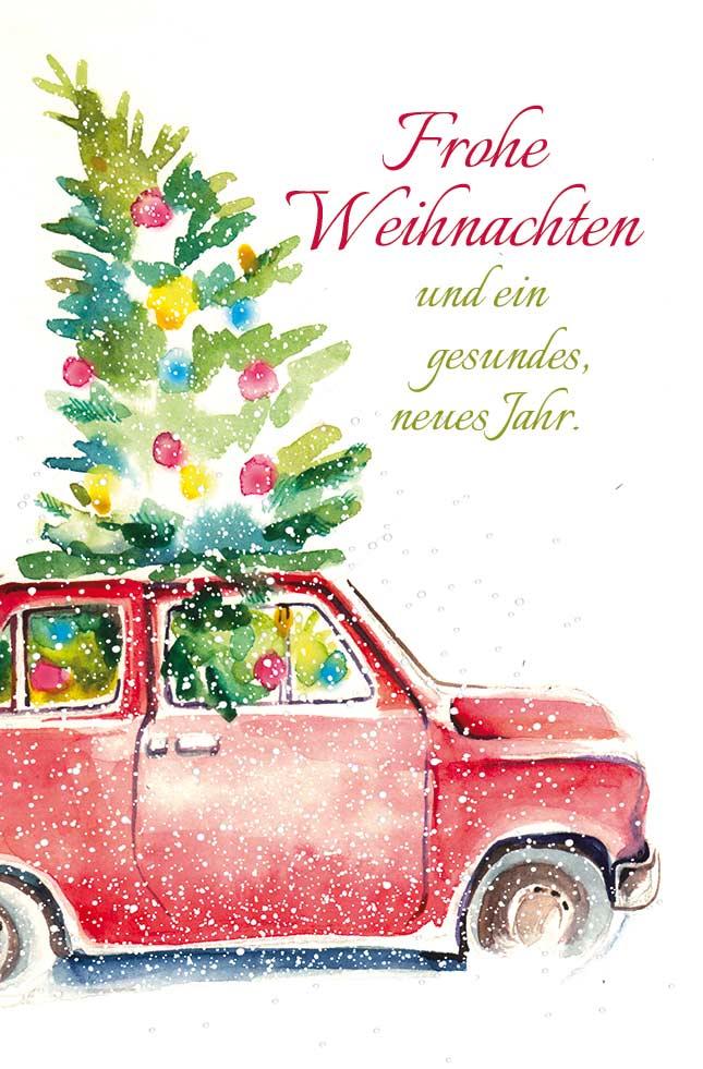 Frohe Weihnachten Und Ein Gesundes Neues Jahr.Weihnachten Grußkarten Luma Kartenedition Schöne Grußkarten Für