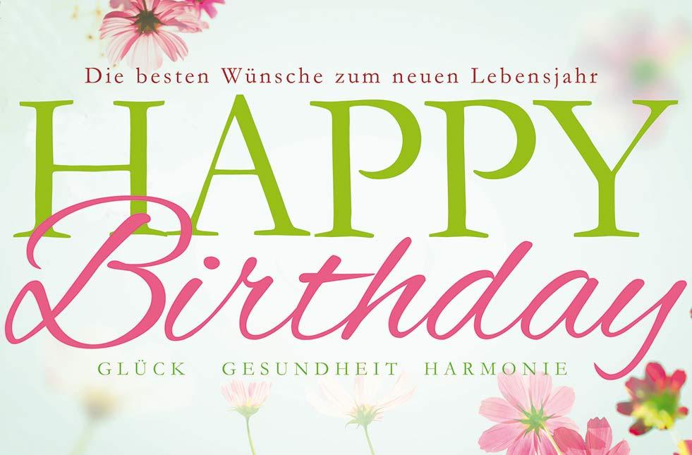 Happy b day wunsche
